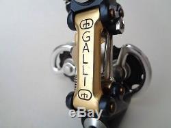Rare NOS Vintage 1980s GALLI KL gold (super record era) rear derailleur