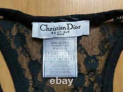 Rare Vintage Christian Dior Galliano Dior and the Seven Dwarfs Stretch Tank Top
