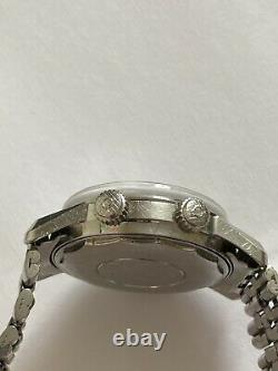 Rare Vintage ENICAR Sherpa Super Divette Automatic Stainless Steel 145/004
