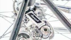 Rare Vintage Maggioni Stratos Road Bicycle Campagnolo Super Record 56 cm Steel