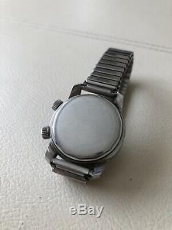Rare Vintage Talis Automatic Super Compressor Divers Wristwatch 1968