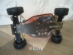 Rare Vintage Yokomo YZ10 4wd RC Race Buggy Car Super DogFighter 93 94