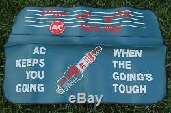 Rare Vintage nos original AC Delco fender battery promo GM Guide auto Chevy
