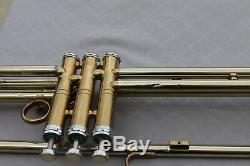 Rare Vtg. 1950's Getzen Super Deluxe Tone Balanced Valve Trombone Tri Color