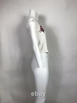 Rare Vtg Christian Dior By John Galliano J'adore Top Xs