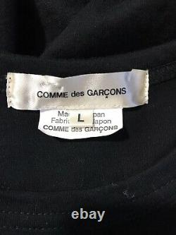 Rare Vtg Comme des Garcons Black Belted Top L