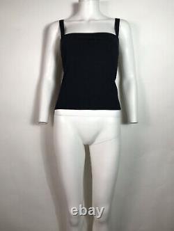 Rare Vtg Gucci by Tom Ford Black 1998 Cami Top M