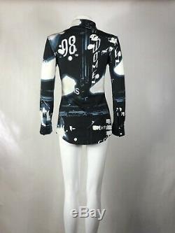 Rare Vtg Jean Paul Gaultier Classique Face Film Print Shirt S