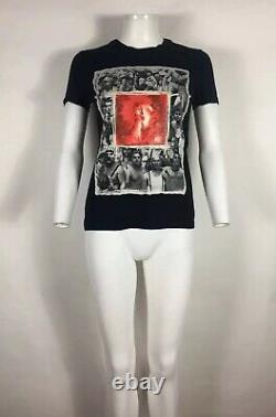 Rare Vtg Jean Paul Gaultier JPG Black Fight Racism Print Top S