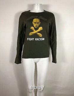 Rare Vtg Jean Paul Gaultier Jeans'Fight Racism' Top S