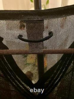 Rare, Vtg Jean-Paul Gaultier Soleil Sheer Mesh Top