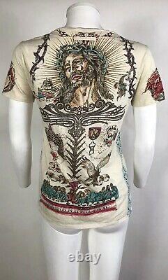 Rare Vtg Jean Paul Gaultier Virgin of Guadalupe Tee S