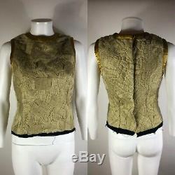 Rare Vtg Maison Martin Margiela AW2003 Wool Yarn Top XS