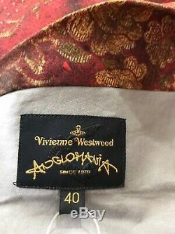 Rare Vtg Vivienne Westwood Anglomania Corset Style Top S