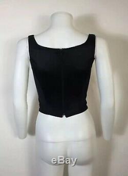 Rare Vtg Vivienne Westwood Black Corset S