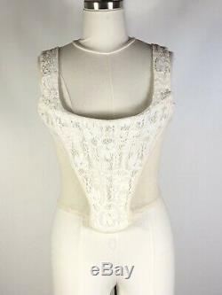 Rare Vtg Vivienne Westwood Lace Corset L