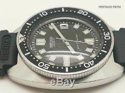 SEIKO DIVER 6105-8000 (SUPER RARE) VINTAGE WATCH FOR MEN, CIRCA 1968s, GOOD COND
