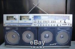 SHARP GF-1000 Super Rare Vintage Cassette Recorder Boombox