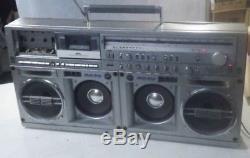 SHARP GF-909 Super Rare Vintage Cassette Recorder Boombox