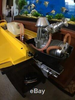 SUPER CLEAN 80s AMPS Seebold Circuit Tunnel Vintage RC Boat And Outboard- RARE