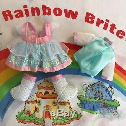 SUPER RARE 1983 RAINBOW BRITE DRESS UP MOONGLOW DOLL Made in China By Mattel