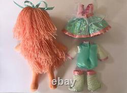 SUPER RARE RAINBOW BRITE MOONGLOW DRESS UP DOLL Mattel 1983