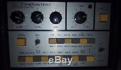 SUPER RARE Vintage ELI CompuRhythm CR 7030 Drum Machine