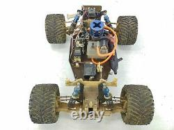SUPER RARE Vintage Traxxas 1/10 2wd Gen 1 Nitro Hawk Pro Stadium Truck ARTR