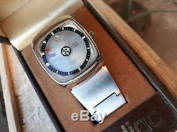 SUPER RARE Vintage ZODIAC Mystery Dial Astrographic SST Automat Wristwatch Swiss