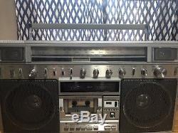Sanyo m-x824 Ghettoblaster Boombox, Vintage, Super Rare