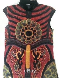 Stunning RARE Vivienne Tam Mesh Vintage 90s top Gaultier style
