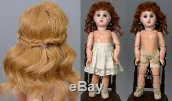 Super RARE 9.5 Size 1 Tete Jumeau Bebe All Antique With Signed Shoes