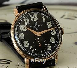 Super Rare 1940's Vintage WW2 Era Military Breitling Geneve Watch