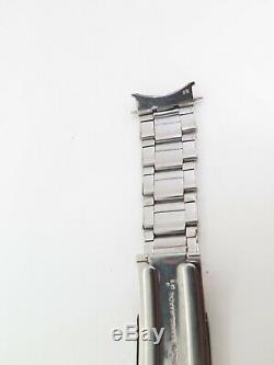 Super Rare 1957 Vintage Rolex 7206 65 Rivet Steel 20mm Oyster Bracelet 6636 6543