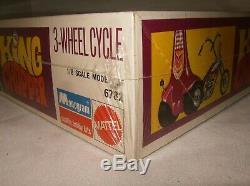 Super Rare 1969 MONOGRAM TOM DANIEL 1/8 KING CHOPPER TRIKE FACTORY SEALED