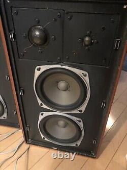 Super Rare BRAUN L-810 / ADS L-810 Vintage Audiophile Speakers Pair