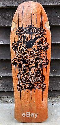 Super Rare NOS Schmitt Stix John lucero X2 One Of A Kind Vintage Skateboard Deck