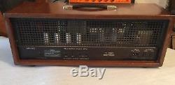 Super Rare Red Bear Vintage Tube Guitar Amplifier Head For Gipson Made USA Expor