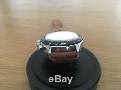 Super Rare Vintage 1960s LIP Chronograph Glossy Panda Dial Rolex 6263 Valjoux