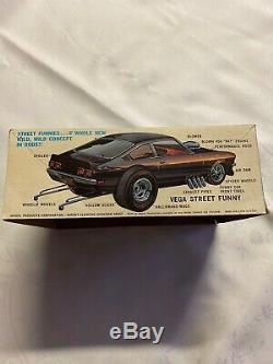 Super Rare Vintage 1971 MPC Street Funny Vega Model Kit NIP NEVER OPENED