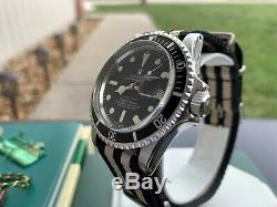 Super Rare Vintage 1971 Rolex 1680 Red Submariner Mark IV 4 Watch in FULL SET