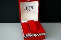 Super Rare Vintage 70ies Red Heuer Box-autavia Monaco Silverstone Carrera