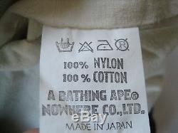 Super Rare Vintage Authentic A Bathing Ape Jacket
