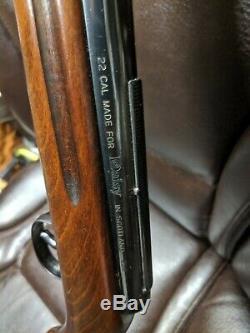 Super Rare Vintage Daisy Model 250 made in Scotland 22 cal PELLET RIFLE RARE