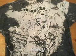 Super Rare Vintage Fear and Loathing in Las Vegas Acid Wash Mosquitohead T-Shirt