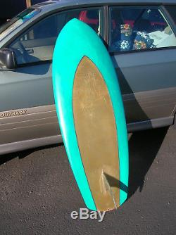 Super Rare Vintage George Greenough 1969 kneeboard surfboard surfing surf