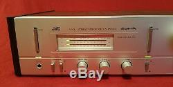 Super Rare! Vintage Jvc A-x3 Super-a Stereo Integrated Amplifier Works Great