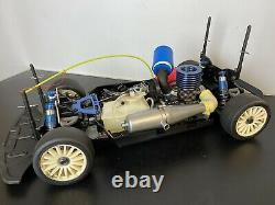 Super Rare Vintage Kyosho Landmax Mk1 1/8th Scale Nitro RC Car