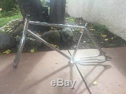 Super Rare Vintage Mongoose Two Four 1982 24in. Old School BMX Frame and Fork