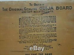 Super rare 1915 1920 Vintage William Fuld original Ouija Board Salem